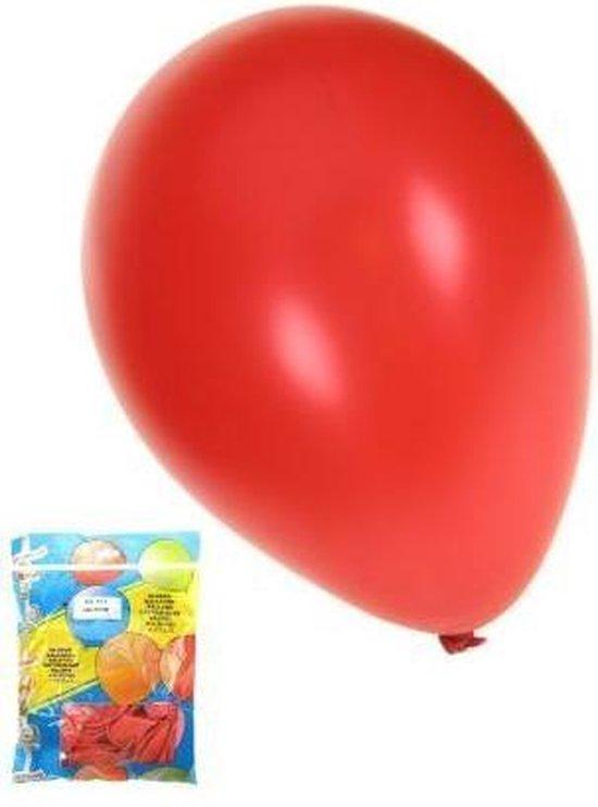 Kwaliteitsballon metallic rood