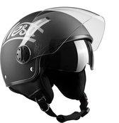 Westt Classic Sun · Open retro jethelm scooterhelm zwart · Motorhelm dames en heren · ECE goedgekeurd