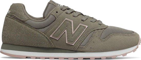 bol.com | New Balance Dames Sneakers Wl373 Dames - Groen ...