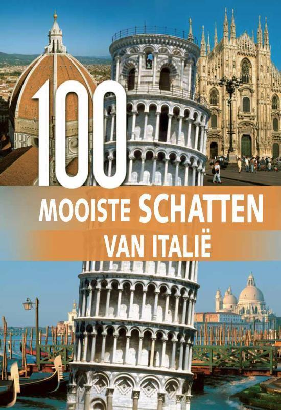 Cover van het boek '100 Mooiste schatten van Italie'