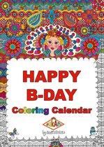 Verjaardagskalender - Kleurboek