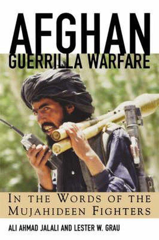 Boek cover Afghan Guerrilla Warfare van Ali Ahmad Jalali (Paperback)