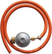 Campingaz BBQ Gasfles Drukregelaarset - 30 Mbar - Drukregelaar + Slang