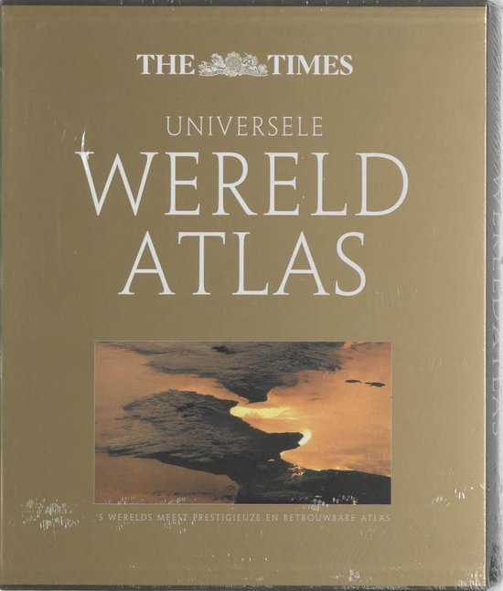 Boek cover The Times Universele Wereldatlas van nvt (Hardcover)
