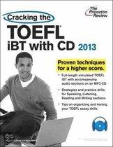 Boek cover Cracking the TOEFL Ibt van Princeton Review