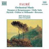 Faure: Orchestral Music / Georgiadis, RTE Sinfonietta, et al
