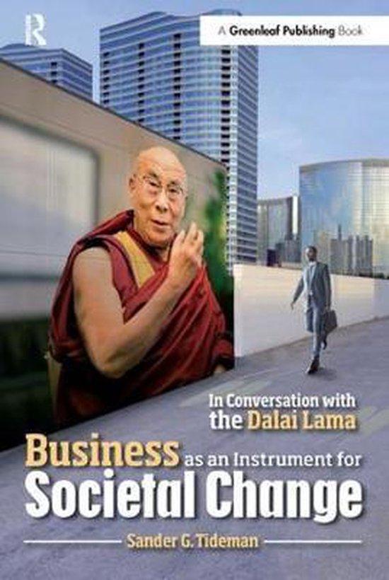 Boek cover Business as an Instrument for Societal Change van Sander Tideman