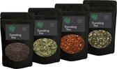 Losse thee | Proefpakket vier verschillende smaken | TrendingTea