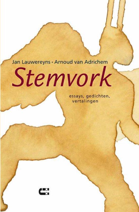 Stemvork - Jan Lauwereyns |