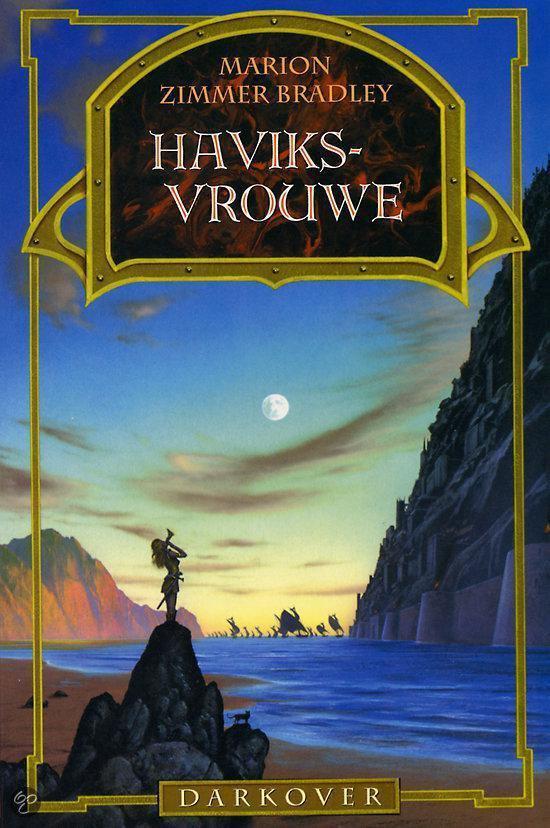Cover van het boek 'Darkover / Haviksvrouwe'