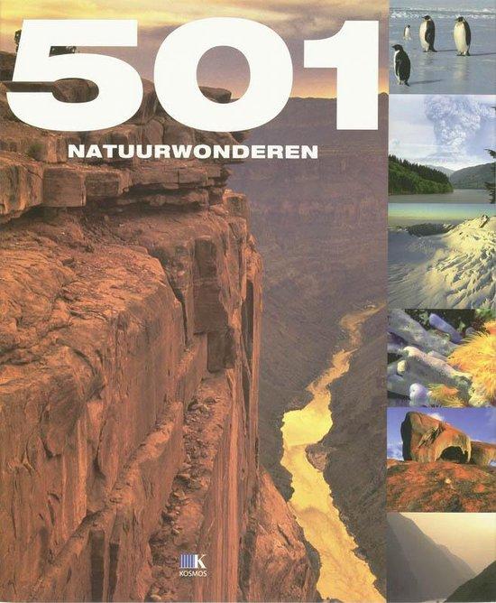Cover van het boek '501 Natuurwonderen'