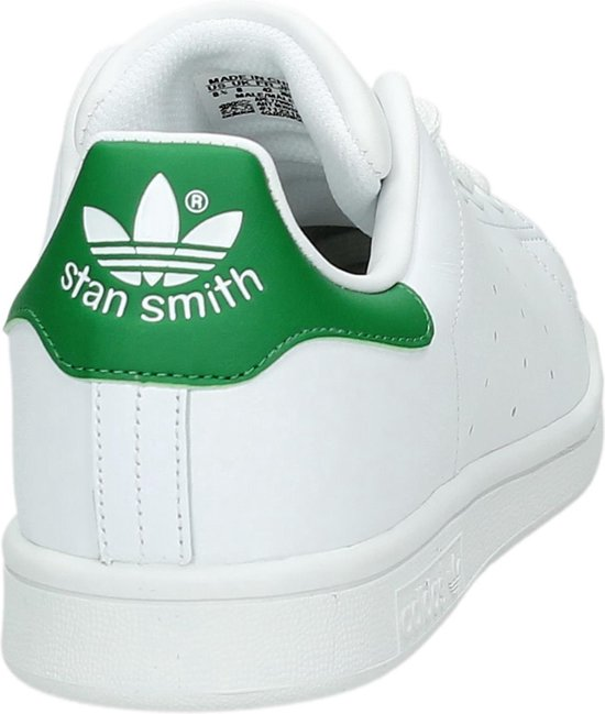 adidas Stan Smith Sneakers - Cloud White/Core White/Green - Maat 44 2/3