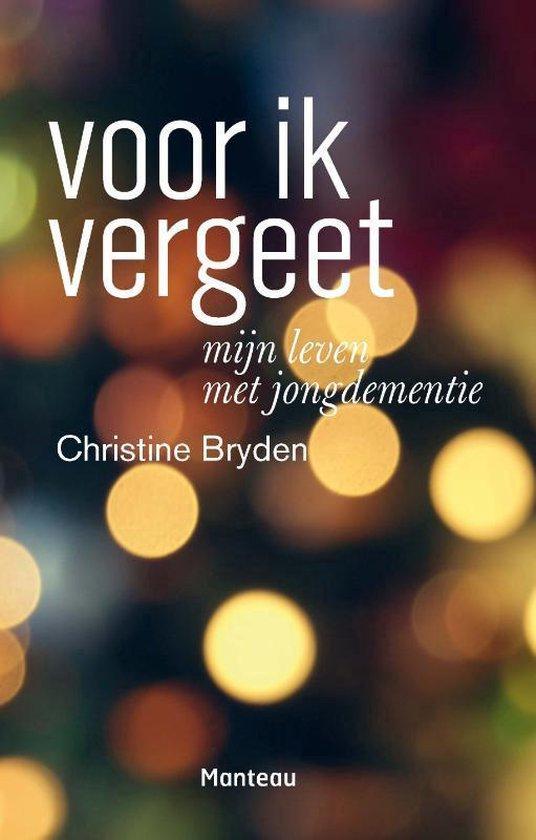 Voor ik vergeet - Christine Bryden | Fthsonline.com