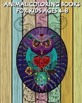 Animal Coloring Books for Kids Ages 4-8