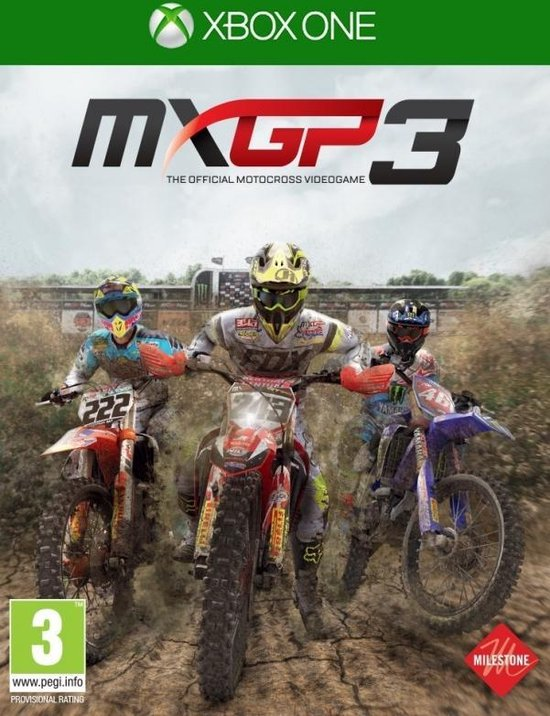 MXGP 3 – The Official Motocross Videogame /Xbox One
