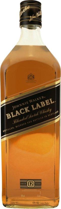 Johnnie Walker Black Label Whisky - 3 L