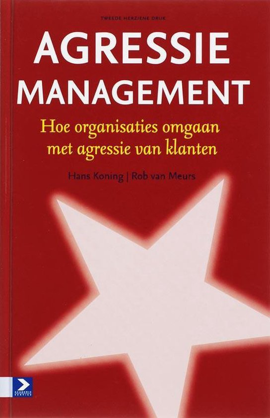 Boek cover Agressiemanagement van H. Koning (Hardcover)