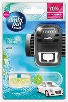 Ambi Pur Auto Luchtverfrisser Waterfall Geur - Luchtverfrisser voor in de Auto - Autoverfrisser - Auto Parfum
