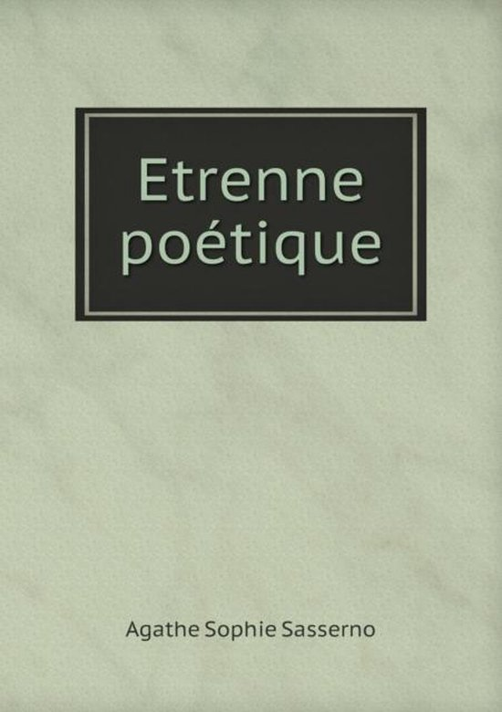 Etrenne Poetique