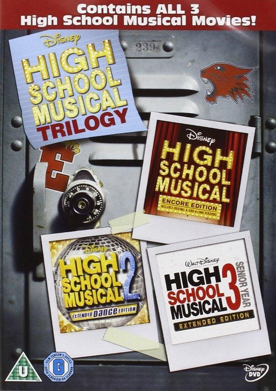 High School Musical - 1 t/m 3 (Import)