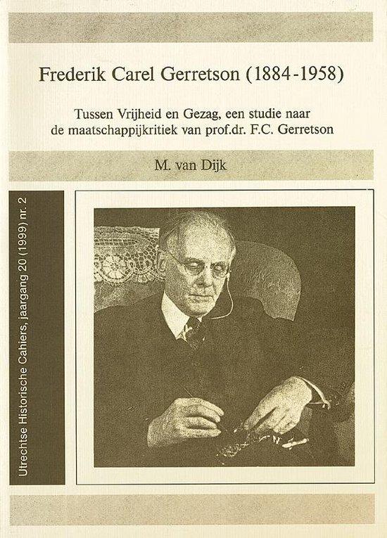 FREDERIK CAREL GERRETSON (1884-1958). TU - M. van Dijk  