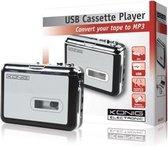 König - HAV-CA10 - Cassette/MP3 Converter - Zilver