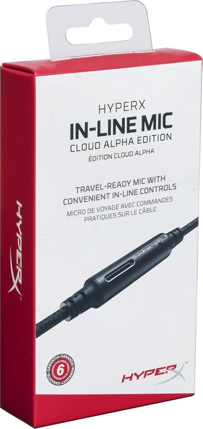 HyperX In-Line Mic - Cloud Alpha Edition