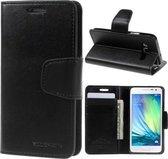 Goospery Sonata Leather case hoesje Samsung Galaxy A5 2015 zwart