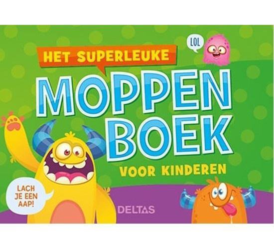 Het superleuke moppenboek voor kinderen - J. de Jager |
