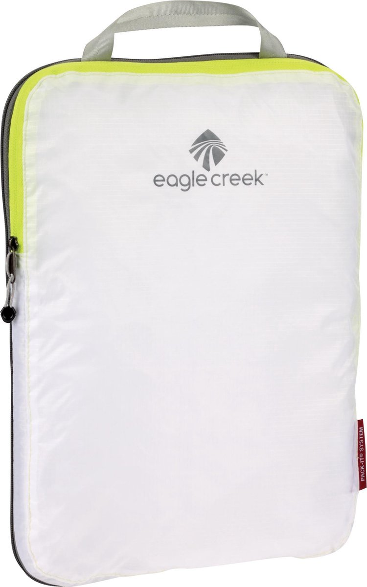 Eagle creek Pack-It Specter™ Compression Cube M Packing cube / koffer organizer Unisex - Wit/ Geel - 7,5 L - Eagle Creek