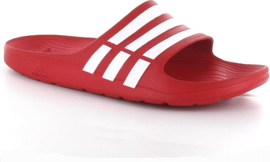 bol.com   adidas G15886 - Slippers - Heren - Maat 40,5 - Rood
