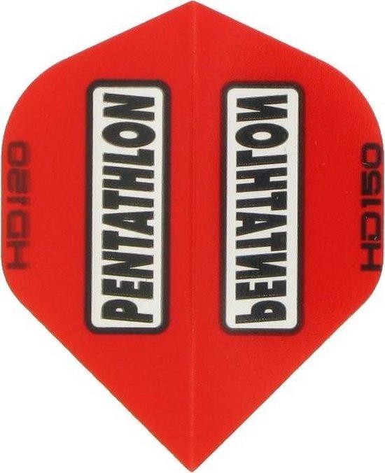 Afbeelding van het spel 5 sets (15 stuks) Pentathlon flights HD 150 Red