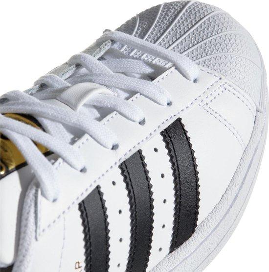 adidas Superstar J Sneakers - Ftwr White/Core Black/Ftwr White - Maat 37 1/3