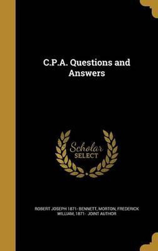 C.P.A. Questions and Answers