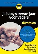 Boek cover Voor Dummies  -   Je babys eerste jaar voor vaders voor dummies van Sharon Perkins
