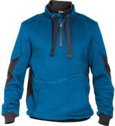Dassy Profesional Workwear Sweatshirt - Stellar Azuurblauw/antracietgrijs - Mt Xl