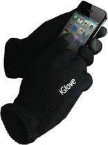 Iglove Touchscreen handschoen, kleur Zwart, One Size