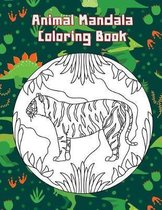 Animal Mandala Coloring Book