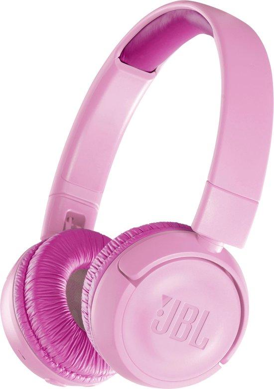 JBL JR300BT Roze – Draadloze on-ear kids koptelefoon