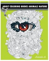 Adult Coloring Books Animals Nature