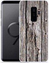 Galaxy S9+ Hoesje Oud hout
