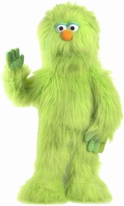 Handpop Groene Monster