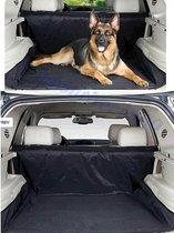 Waterafstotende autohoes voor hond - Beschermhoes auto - Honden deken - Hondenkleed - Achterbank en Kofferbak - 125 x 144 cm zwart