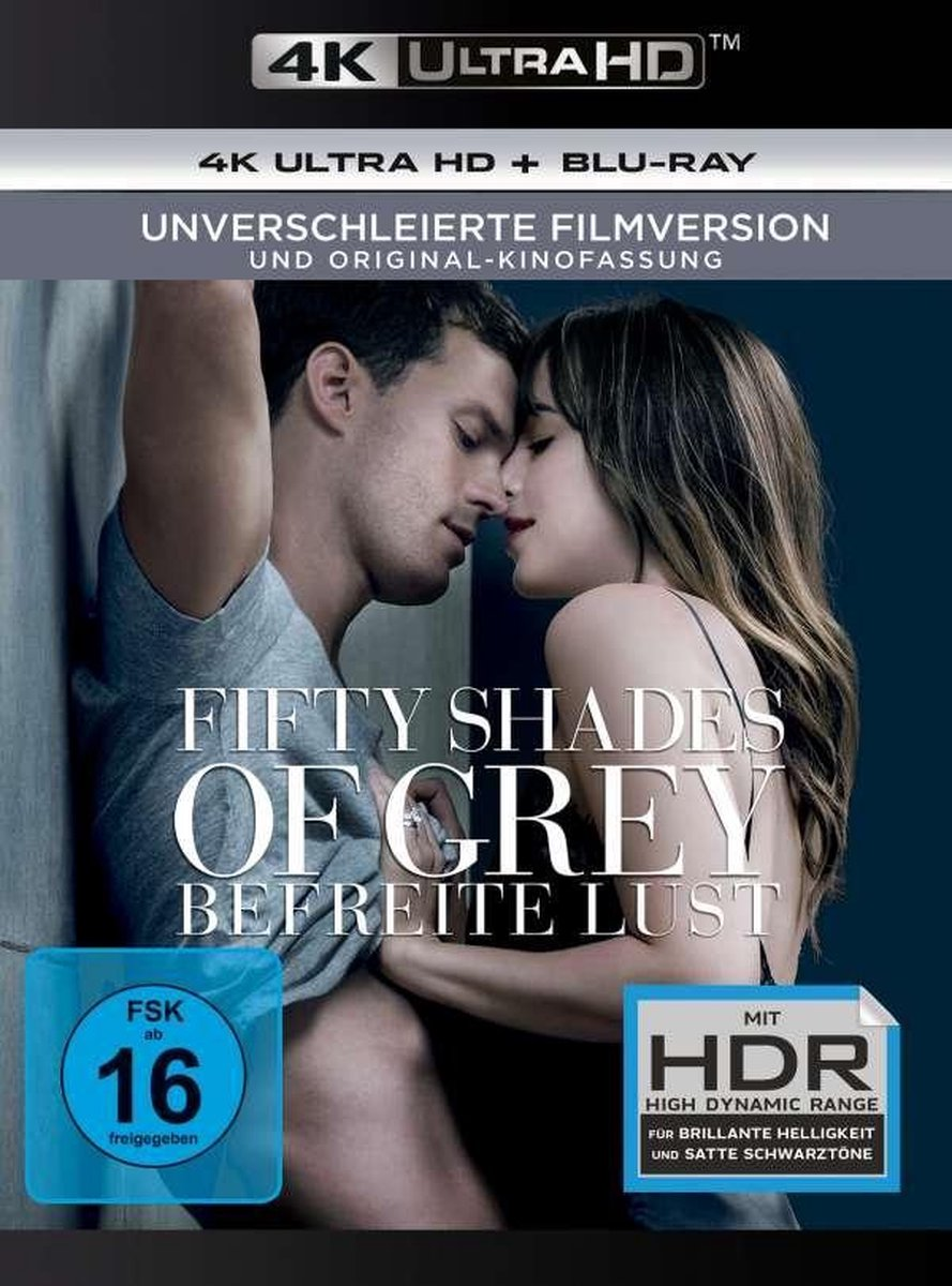 Fifty Shades of Grey 3 - Befreite Lust (Ultra HD Blu-ray & Blu-ray)-