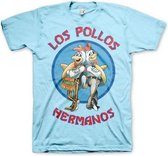 T-shirt Breaking Bad Los Pollos blauw M