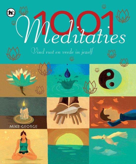 Cover van het boek '1001 meditaties' van M. George