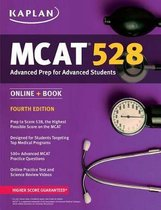 Boek cover MCAT 528 Advanced Prep 2018-2019 van Kaplan Test Prep