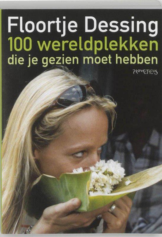 Cover van het boek '100 wereldplekken' van Floortje Dessing