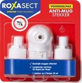 Roxasect Anti-Mug Stekker - Voordeelverpakking - 2 stuks