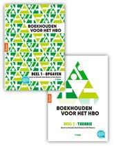Boek cover Boekhouden voor het hbo deel 1. Theorie- en opgavenboek van Gerard van Heeswijk